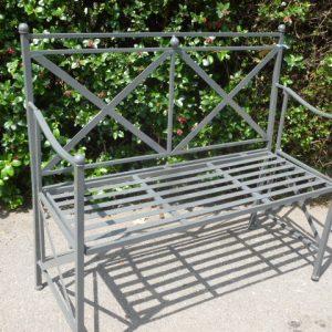 Folding garden bench. £155.00
